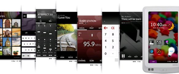 Cowon X7 MP3 player screenshots